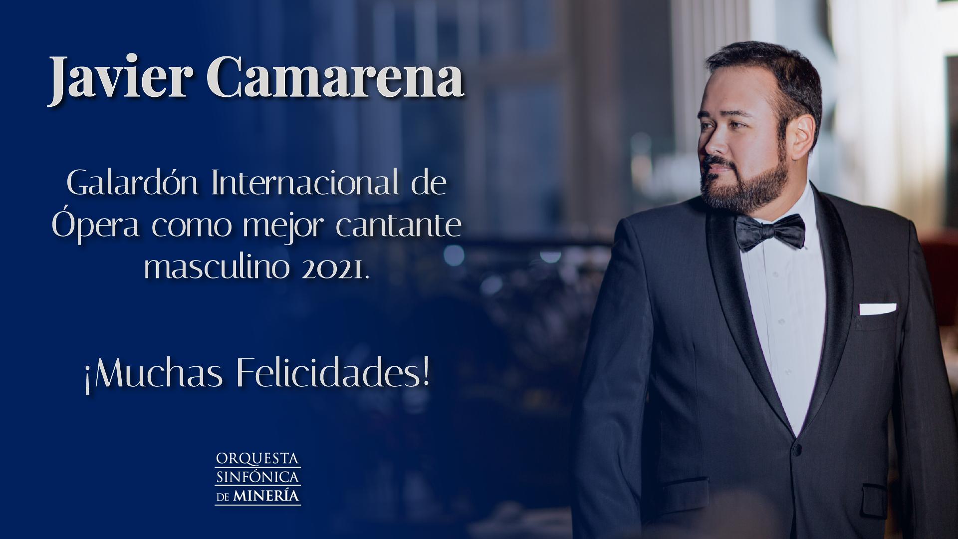 ¡Felicidades Javier Camarena!