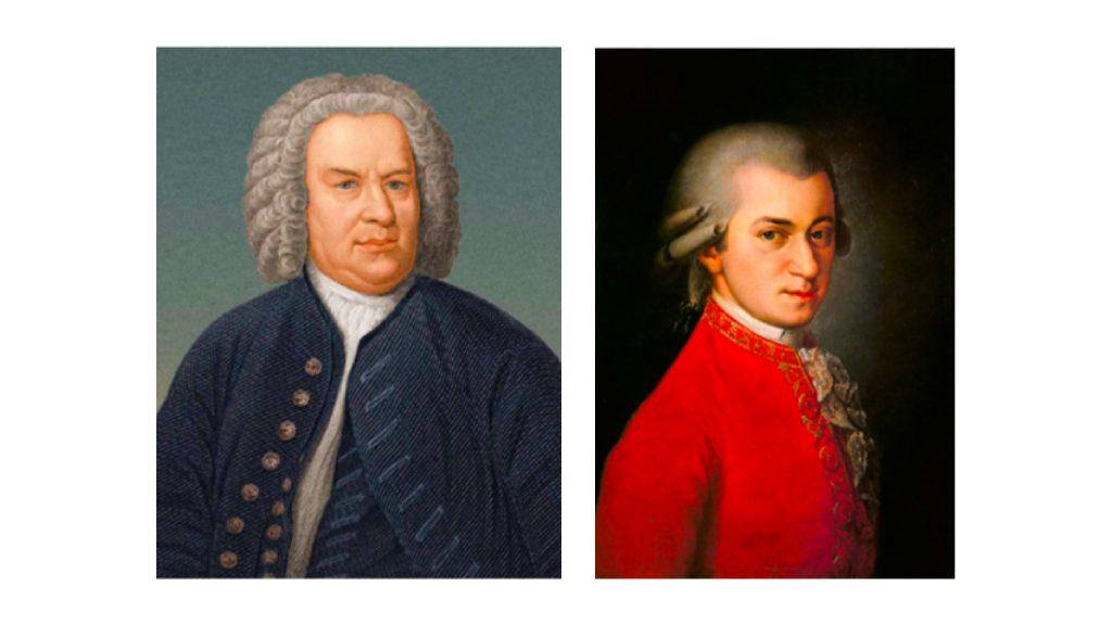 Un diálogo entre J. S. Bach y W. A. Mozart
